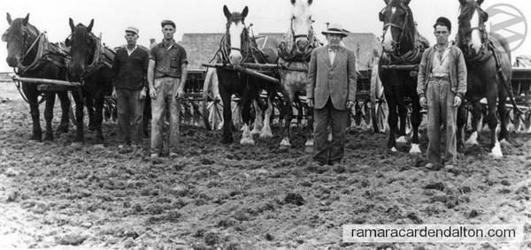 Pat Gaughan Nacey Heitzner, Bud Murphy, Don Murphy -1949