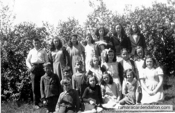 S.S.#6 Fairvalley, Class of 1947