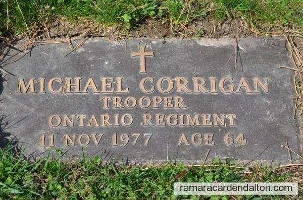 Trooper Michael CORRIGAN