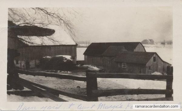 1939ish Aunt Marge's Farm