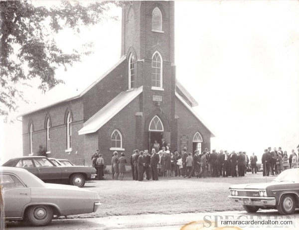 Knox Presbyterian Church Uptergrove Late 1960's