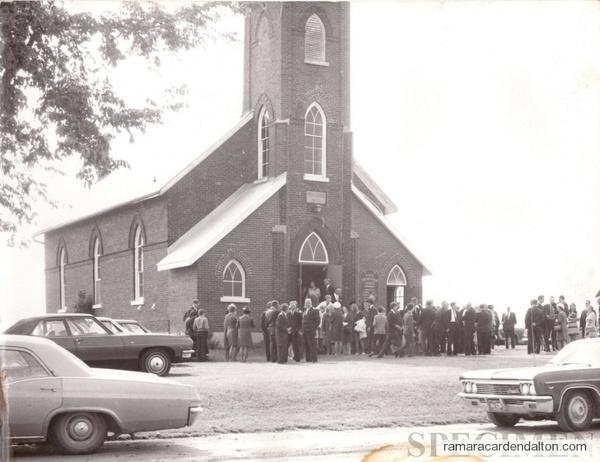 Knox Presbyterian Church Uptergrove Late 1960's