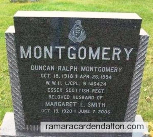 Montgomery, Duncan Ralph