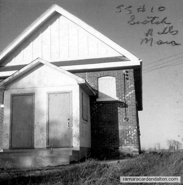 S. S. #10, Scotch Hill School House