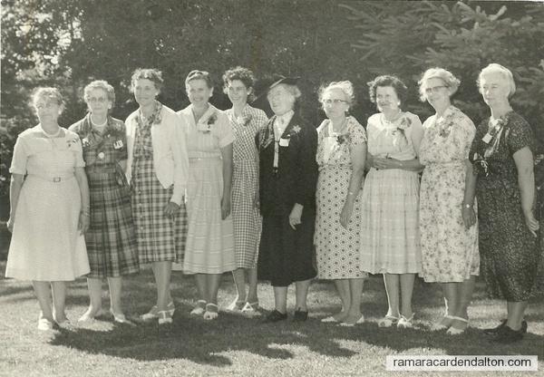 Gamebridge Women's Institute--50 Anniversary 1960