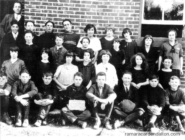 Foley Separate School------ Continuation Class of 1925