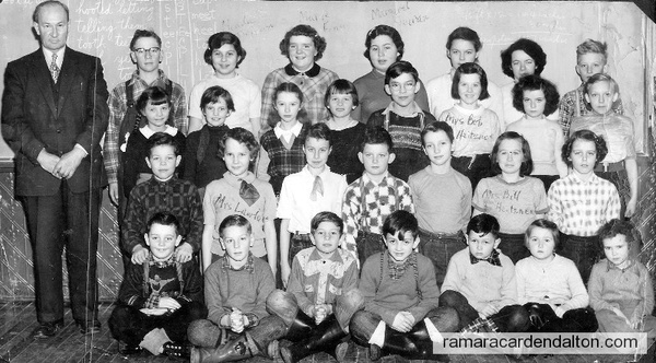 S.S.#8  Lawrence School , Class of 1955