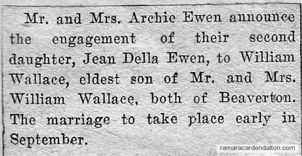 Ewen-Wallace