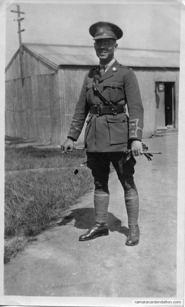 Lieutenant Ignatius McCorkell WWI