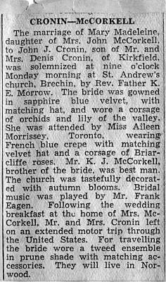 McCorkell-Cronin 1936