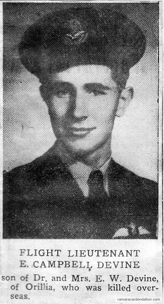 Flight Lieutenant E. Campbell Devine