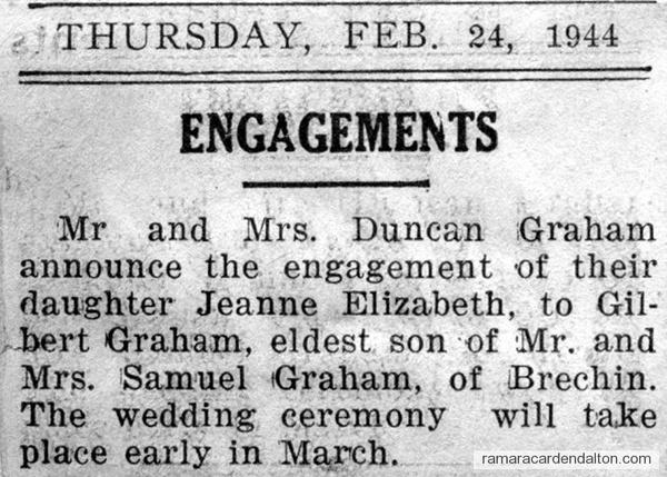 Graham Engagement