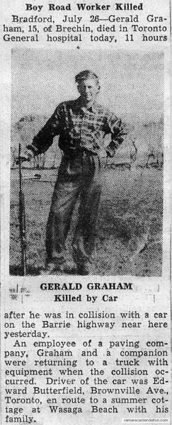 Gerald Graham killed