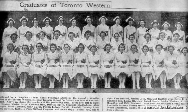 Graduates of Toronto Western