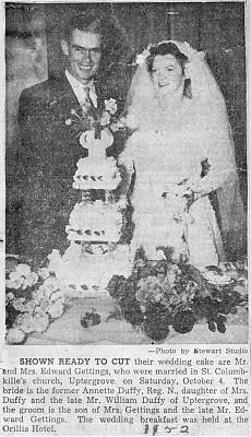 Gettings-Duffy Wedding