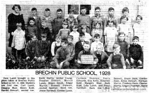Brechin Public School 1928