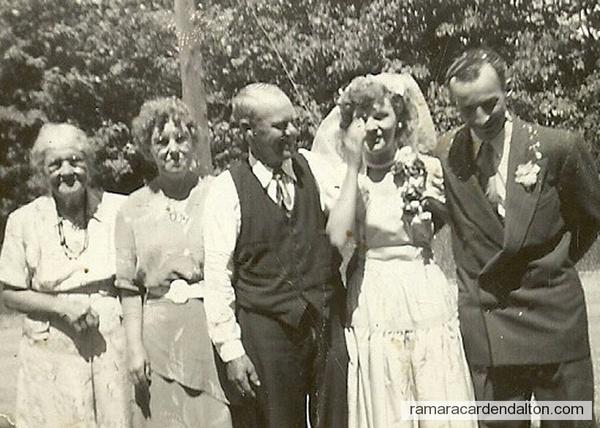 Bill Currie --Murial Levack Wedding