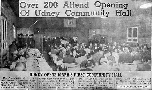 Udney Community Center