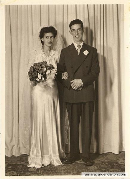 Alberta Steele and Ross Reid's wedding photo