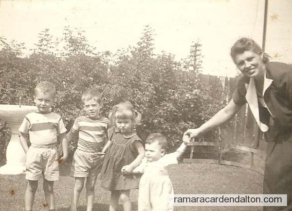 James, John, Anne, Joseph and Margaret Humphreys