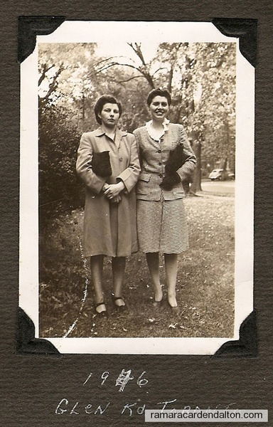 Kay and Peggy Steele