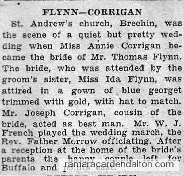 Corrigan -Flynn