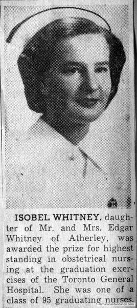 Isobel Whitney