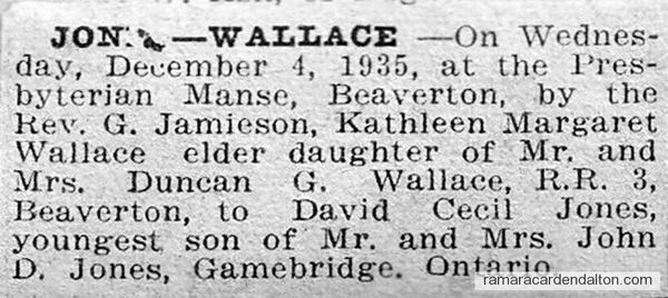 Jones-Wallace