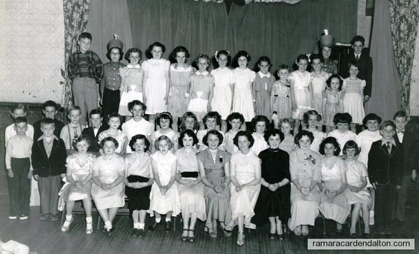 Music class 1952
