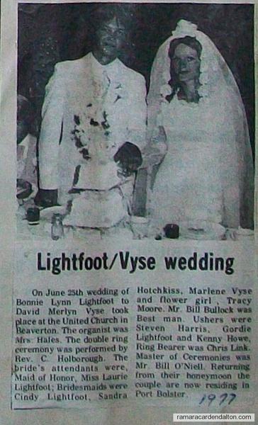 Lightfoot-Vyse