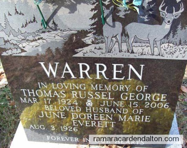 Thomas Russel George WARREN