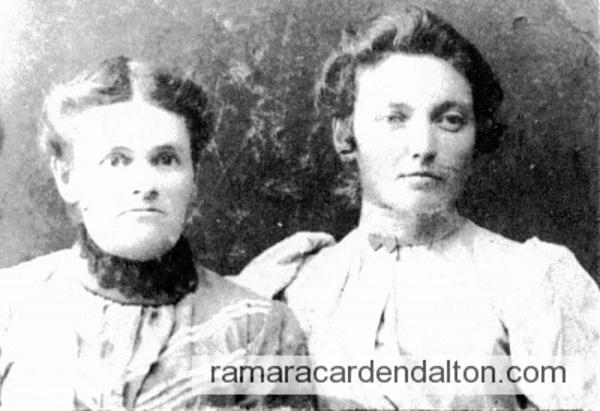 Mary (Johnson) Brunson & daughter Martha