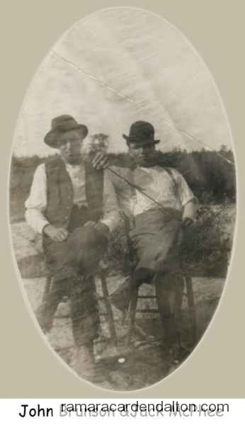 John Brunson and Jack McPhee