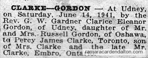 Clarke-Gordon