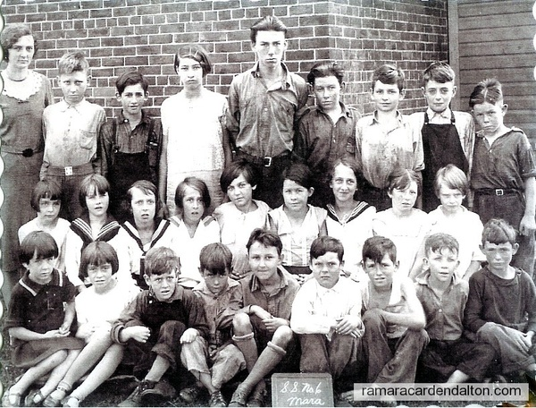S.S. #6, Fairvalley, Class of 1931