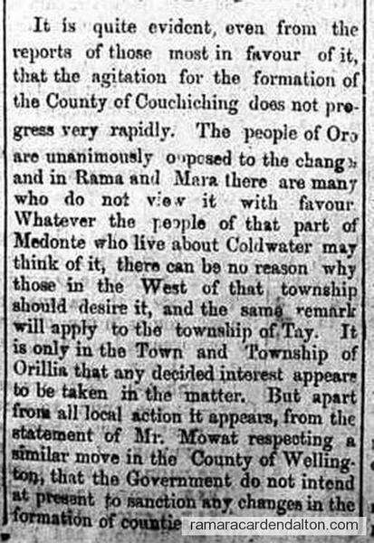 Couch County 1885
