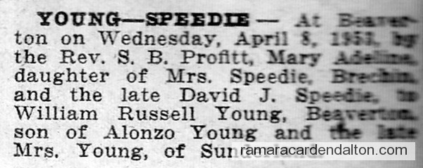 Young-Speedie