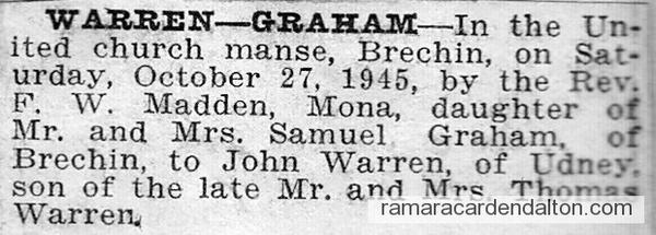 Warren-Graham