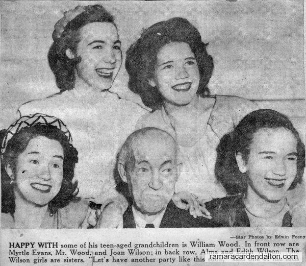 William Wood & Granddaughters