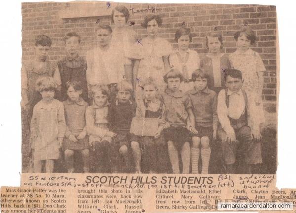 Class of 1931  SS#10