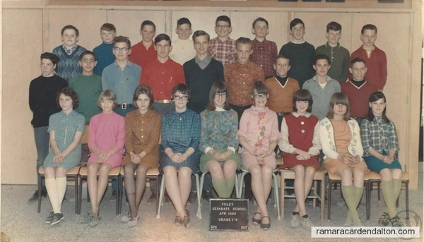 Foley 1968 - My Oldest Sisters Class