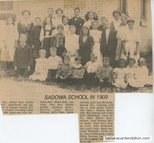 Sadowa  SS# 4 1909