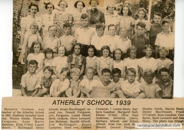 Atherley School 1939