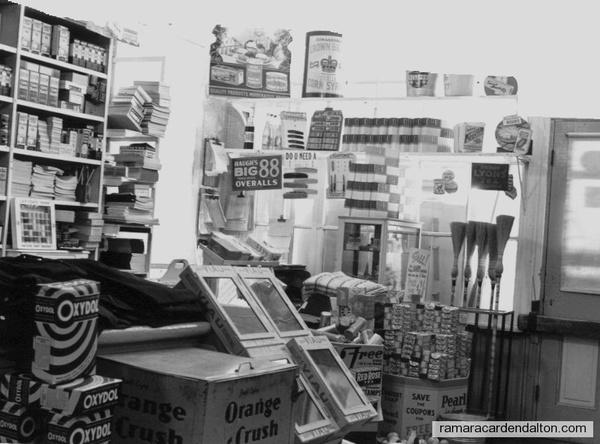 Frank Hall Store Creighten St. 1936