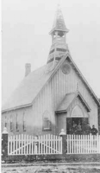 Longford Memorial Church 1890