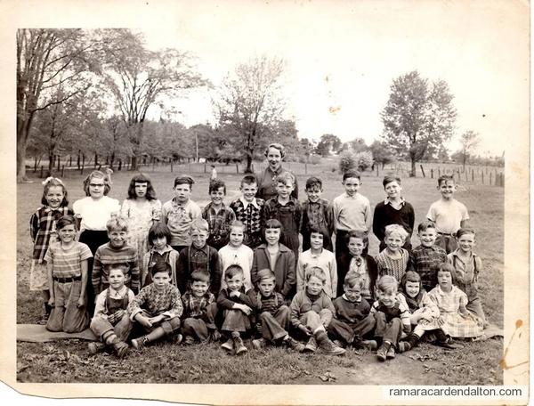 Uptergrove--1952 Junior Class