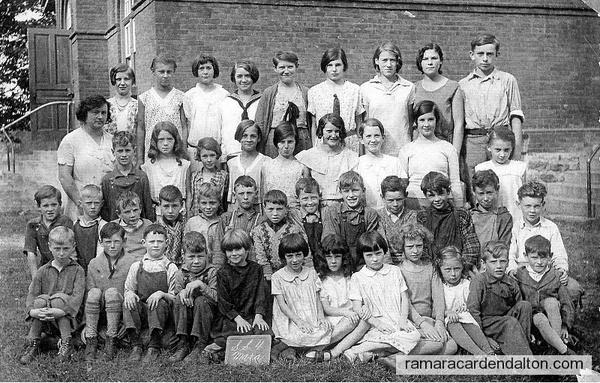 Uptergrove S S #4, Class of 1931