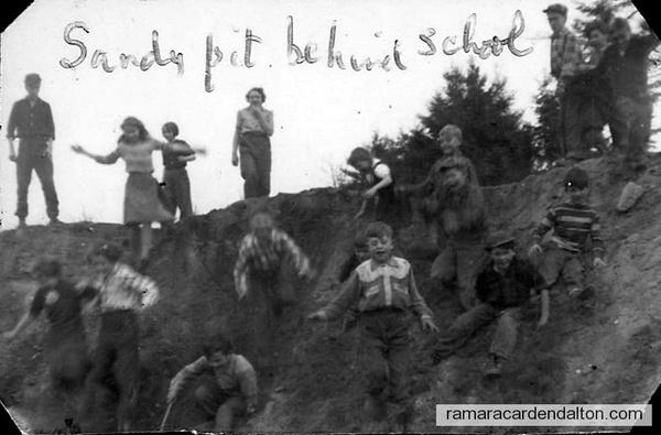 S S # 8 Udney Sandy Pit behind school