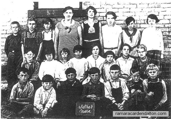 SS #8 Mara, Class of 1932