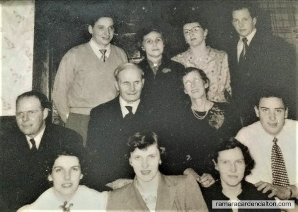 Newman Family--About 1953--54